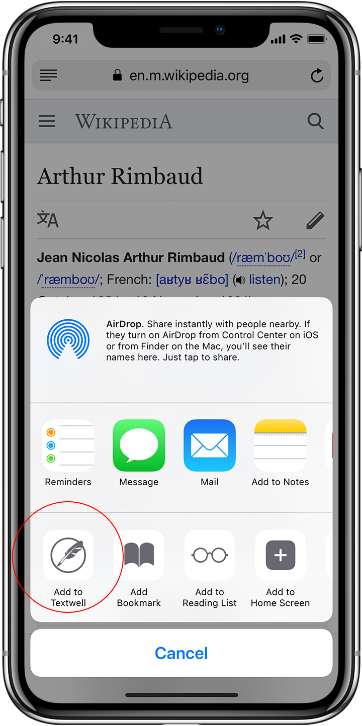Textwell - The Modeless Textbox for iPhone, iPad, iPod touch, Mac
