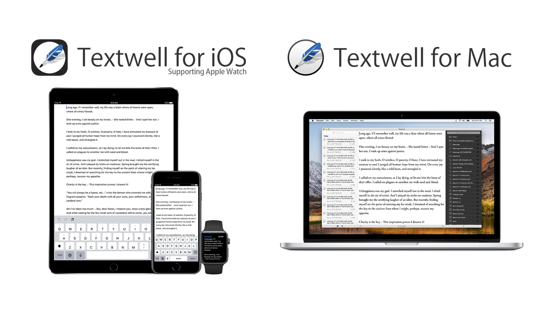 Textwell - The Modeless Textbox for iPhone, iPad, iPod touch